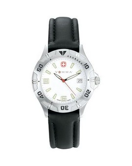 Wenger® Mens Swiss Mil Brigade Bk Strp Watch