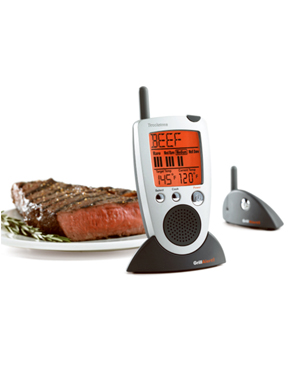 Brookstone Talking Remote Meat Thermometer