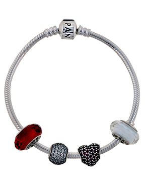 Pandora Fire and Ice Bracelet
