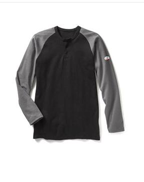 Two Tone Henley T-Shirt