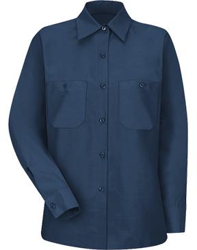 Red Kap - Women's Long Sleeve Industrial Work Shirt