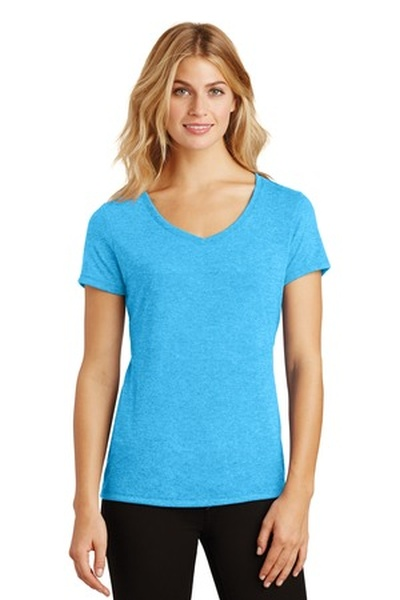 District Made ®  Ladies Perfect Tri ®  V-Neck Tee