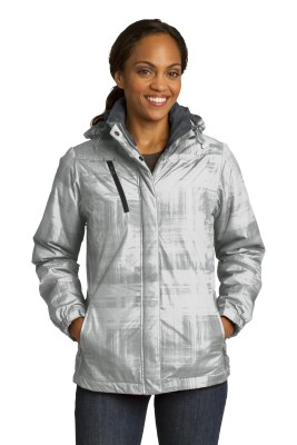 Port Authority ®  Ladies Brushstroke Print Insulated Jacket