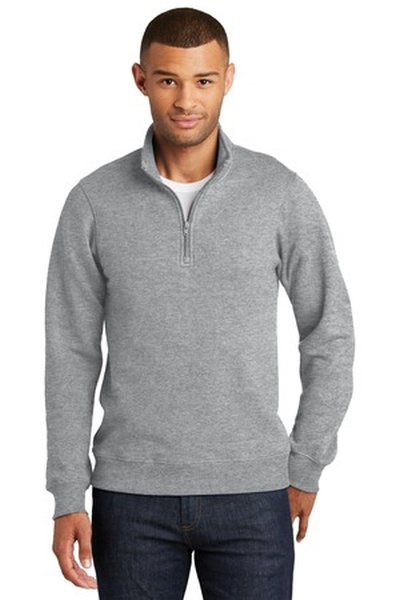 Port & Company® Fan Favorite Fleece 1/4-Zip Pullover Sweatshirt