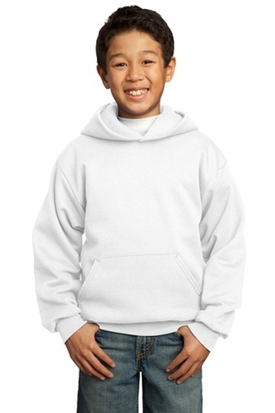 Port & Company ®  - Youth Pullover Hooded Sweatshirt
