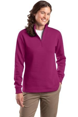 Sport-Tek ®  - Ladies 1/4-Zip Sweatshirt