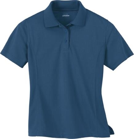 LADIES' EPERFORMANCE™ JACQUARD PIQUE POLO