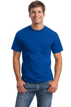 Gildan - Ultra Cotton ®  100% Cotton T-Shirt with Pocket