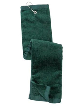 Port Authority® Grommeted Tri-Fold Golf Towel